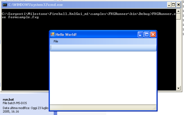 Fireball.XmlGui / Windows Form...